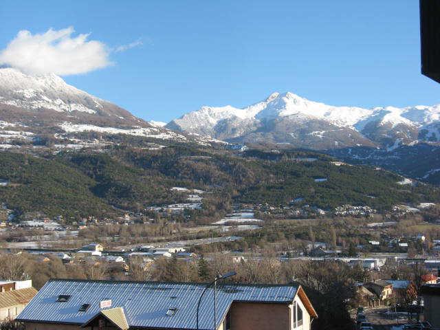Location au ski Studio cabine 4 personnes (23) - Residence Campanules - Les Orres - Extérieur hiver