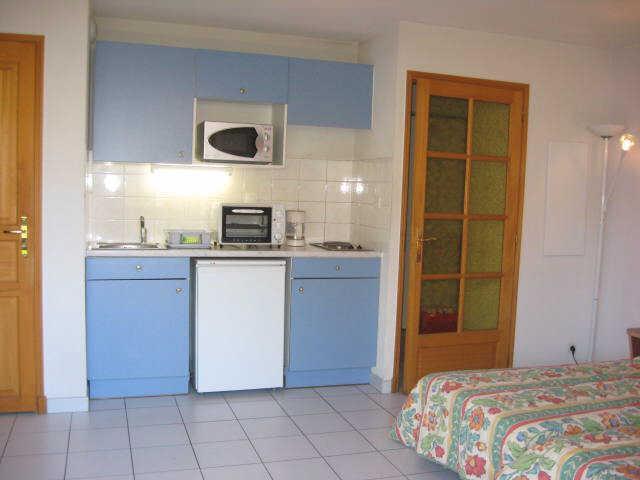 Location au ski Studio 2 personnes (11) - Residence Campanules - Les Orres - Kitchenette