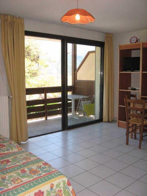Location au ski Studio 2 personnes (11) - Residence Campanules - Les Orres - Séjour