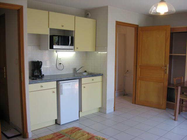 Location au ski Studio 2 personnes (12) - Residence Campanules - Les Orres - Kitchenette