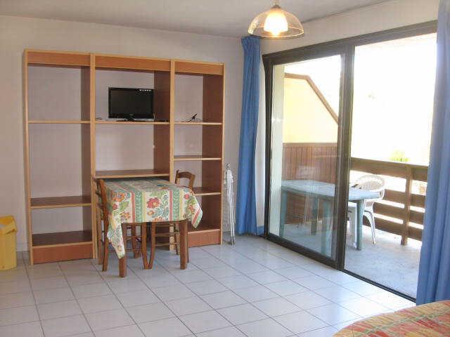 Location au ski Studio 2 personnes (12) - Residence Campanules - Les Orres - Séjour