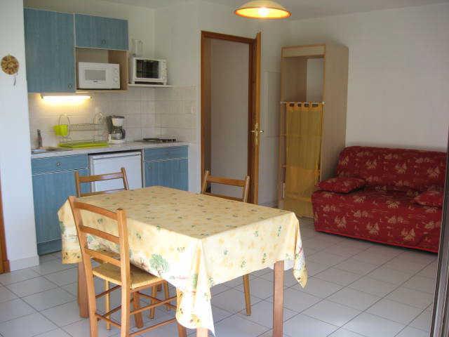 Location au ski Studio 2 personnes (17) - Residence Campanules - Les Orres - Kitchenette