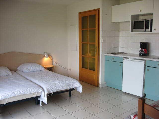 Location au ski Studio 2 personnes (20) - Residence Campanules - Les Orres - Chambre