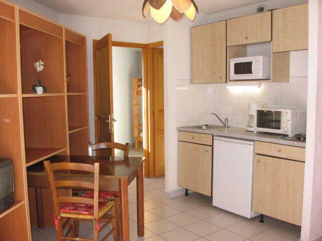 Location au ski Studio cabine 4 personnes (14) - Residence Campanules - Les Orres - Kitchenette