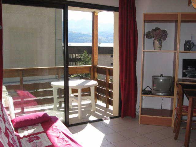 Location au ski Studio cabine 4 personnes (14) - Residence Campanules - Les Orres - Séjour