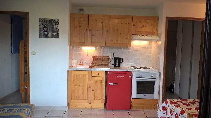 Location au ski Studio cabine 4 personnes (20) - Residence Campanules - Les Orres - Clic-clac