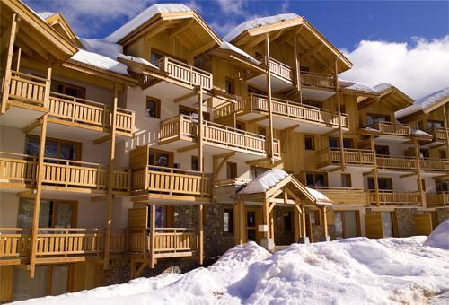 Ski en famille Residence Le Balcon Des Airelles