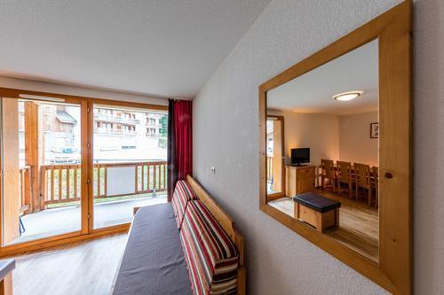 Location au ski Residence Le Bois Mean - Les Orres - Séjour
