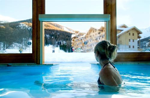 Location Residence Les Hauts De Preclaux hiver