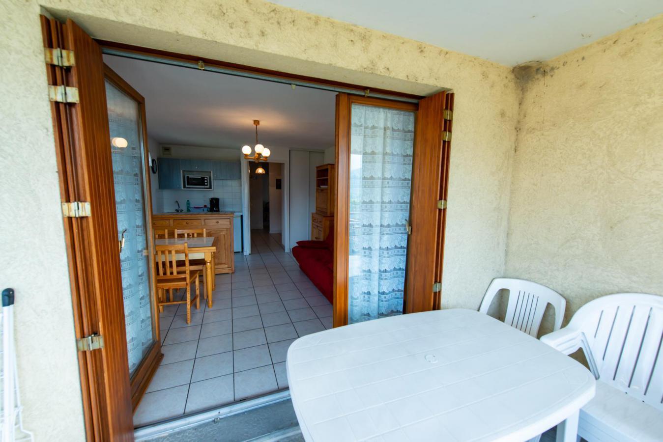 Location au ski Appartement 2 pièces 4 personnes (201) - Residence Les Pommiers - Les Orres - Baignoire