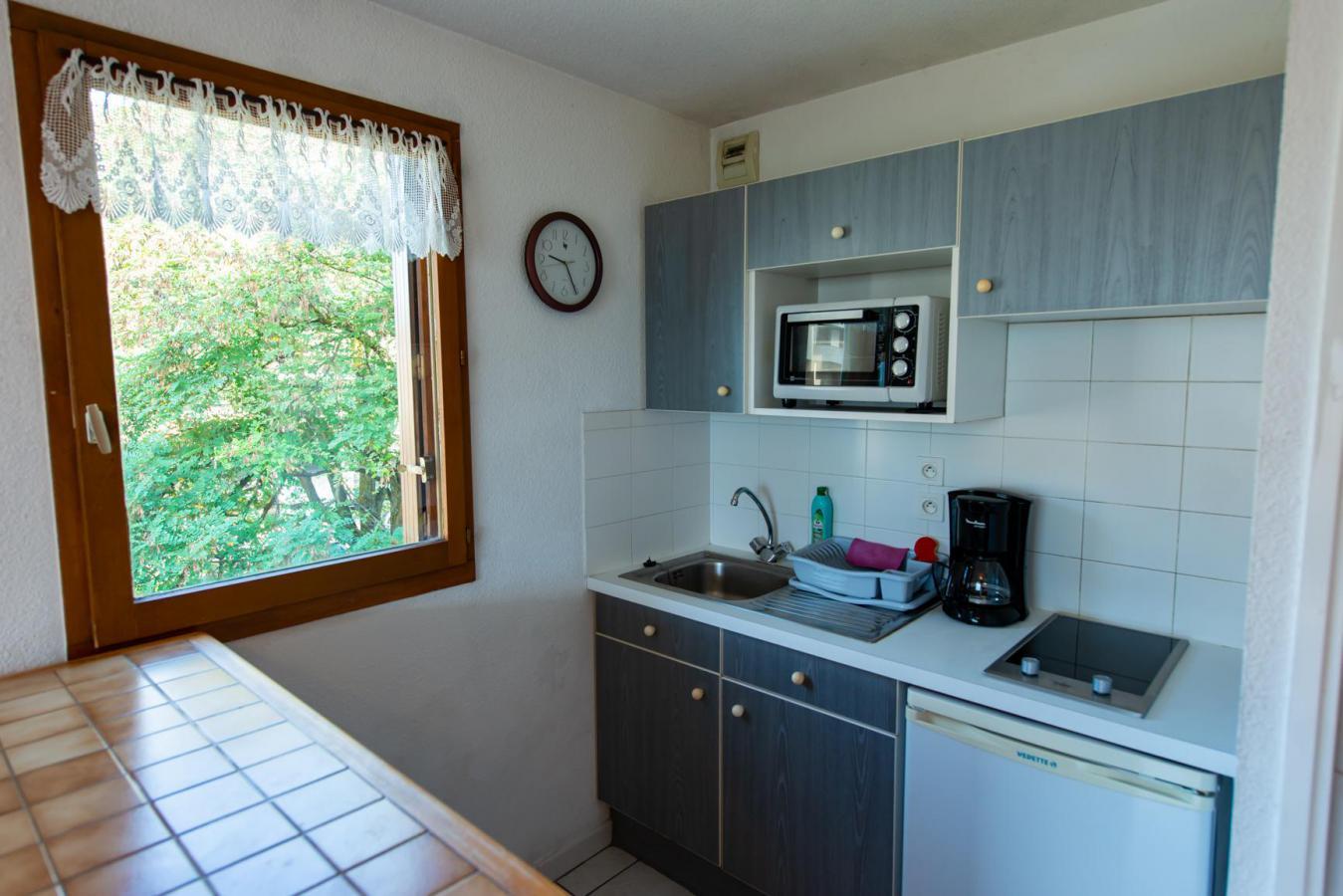 Location au ski Appartement 2 pièces 4 personnes (201) - Residence Les Pommiers - Les Orres - Kitchenette