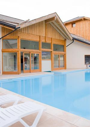 Location au ski Residences La Foret D'or - Les Orres - Piscine