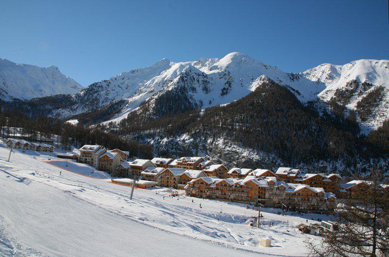 Location au ski Appartement 2 pièces 4 personnes (802) - La Résidence le Bois Méan - Les Orres - Extérieur hiver