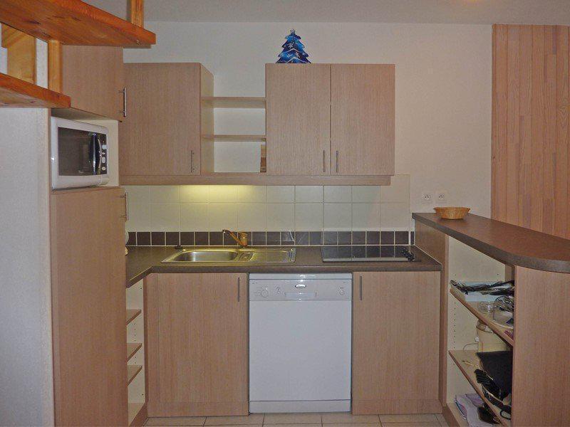 Location au ski Appartement duplex 3 pièces 8 personnes (494) - Résidence l'Ecrin des Orres - Les Orres - Kitchenette