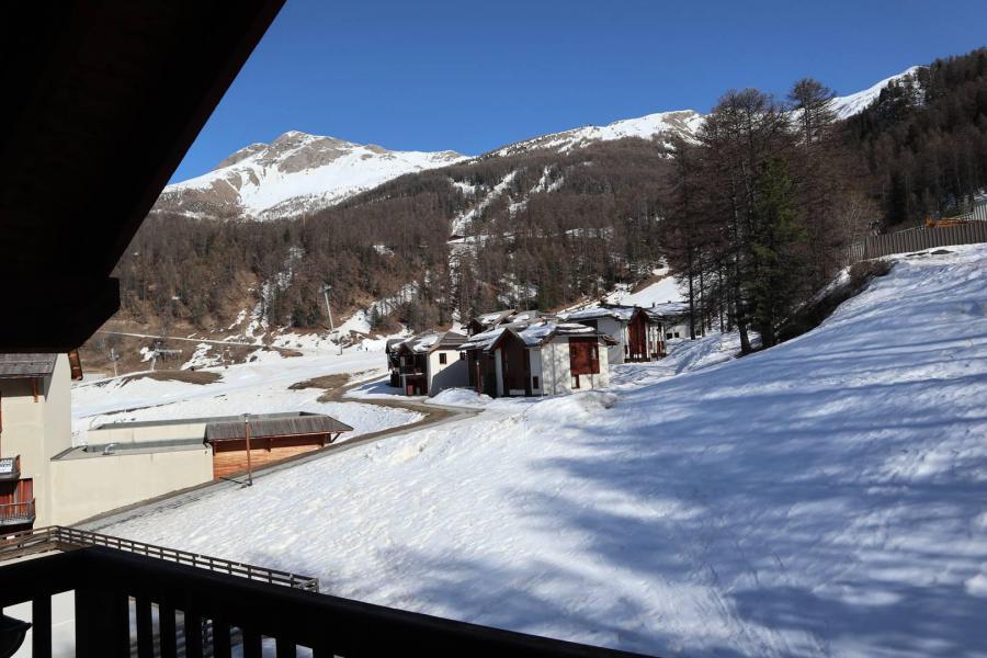 Аренда на лыжном курорте Апартаменты 2 комнат 4 чел. (1024) - Résidence la Combe d'Or - Les Orres - Двухспальная кровать