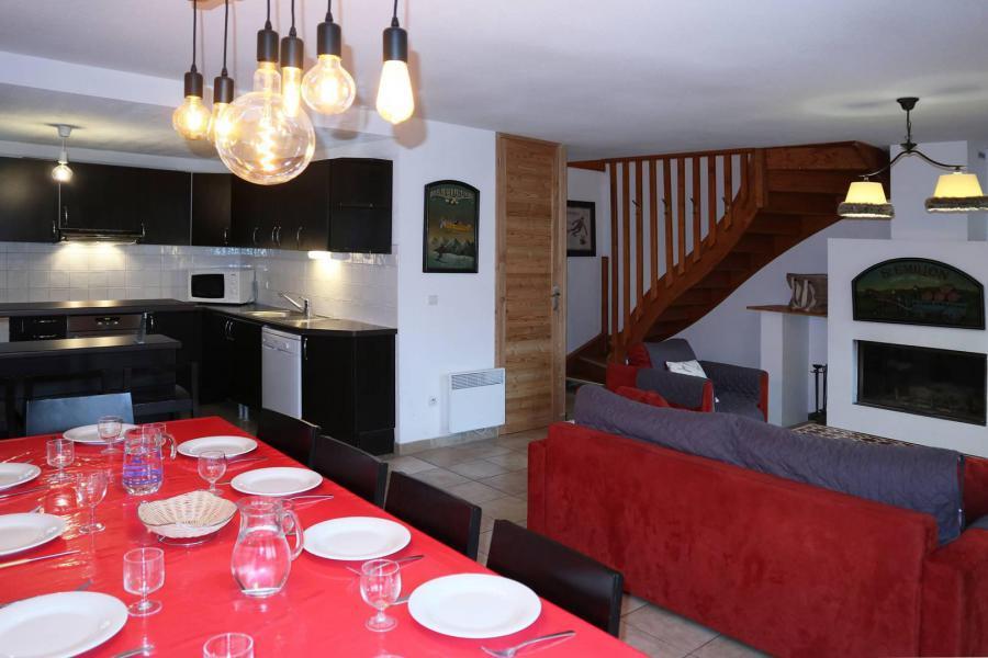 Location au ski Chalet mitoyen 4 pièces 10 personnes - Résidence la Combe d'Or - Les Orres