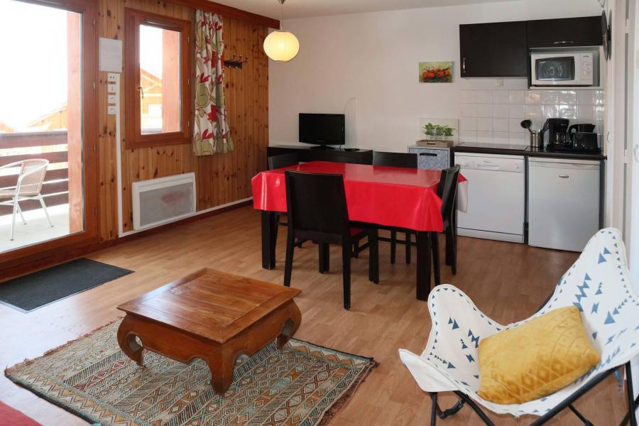 Location au ski Appartement 2 pièces 4 personnes (1001) - Résidence la Combe d'Or - Les Orres - Coin repas