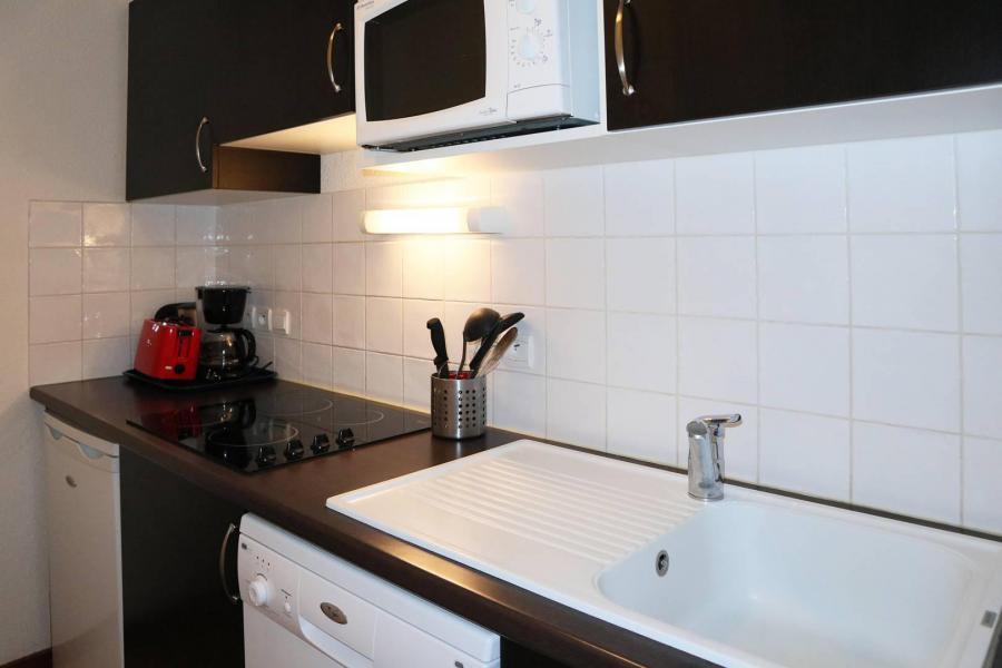 Location au ski Appartement 2 pièces 4 personnes (1012) - Résidence la Combe d'Or - Les Orres - Kitchenette