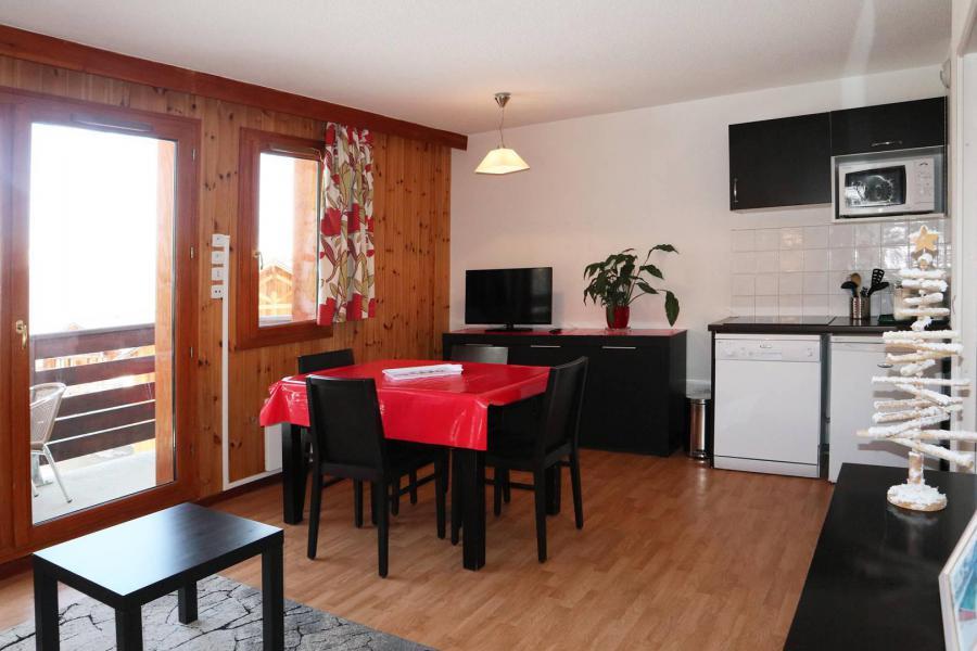 Location au ski Appartement 2 pièces 4 personnes (1022) - Résidence la Combe d'Or - Les Orres - Coin repas