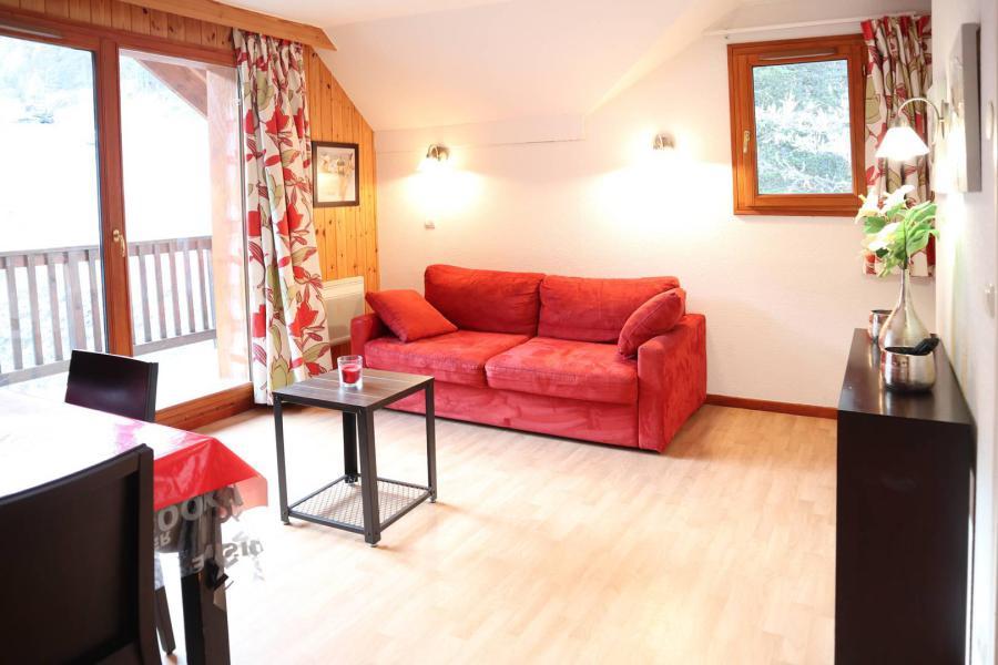 Location au ski Appartement 2 pièces 4 personnes (1024) - Résidence la Combe d'Or - Les Orres - Séjour