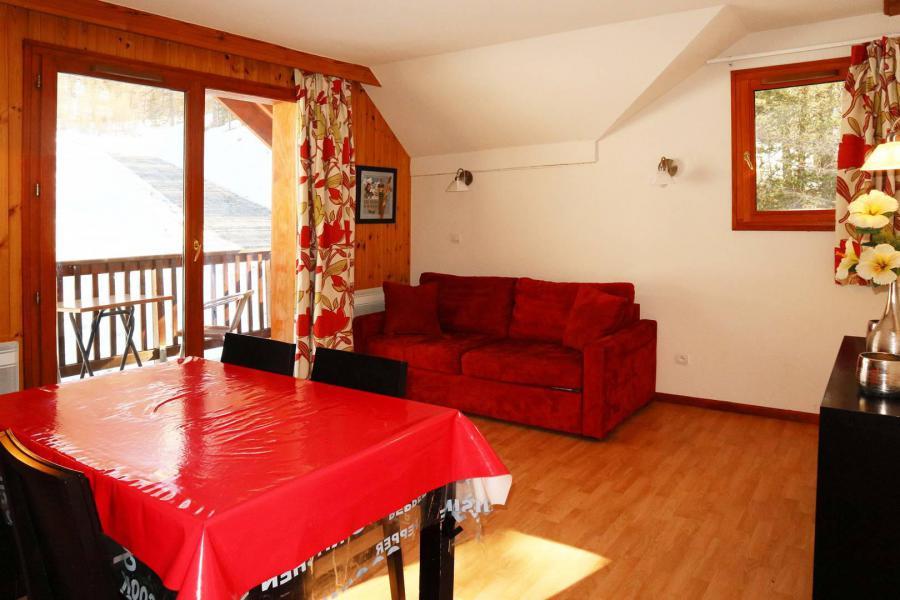 Location au ski Appartement 2 pièces 4 personnes (1024) - Résidence la Combe d'Or - Les Orres - Table