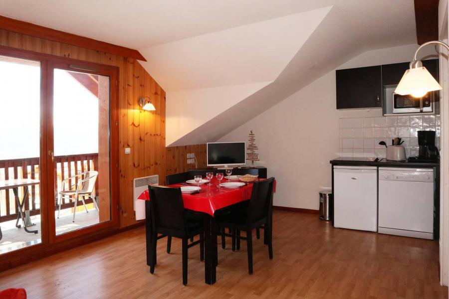 Location au ski Appartement 2 pièces 4 personnes (1043) - Résidence la Combe d'Or - Les Orres - Coin repas