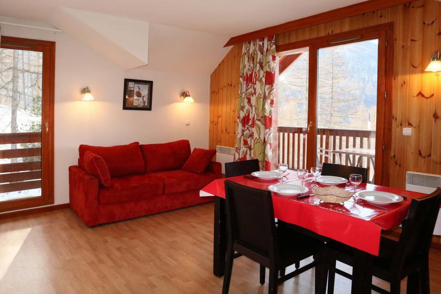 Location au ski Appartement 2 pièces 4 personnes (1043) - Résidence la Combe d'Or - Les Orres - Table