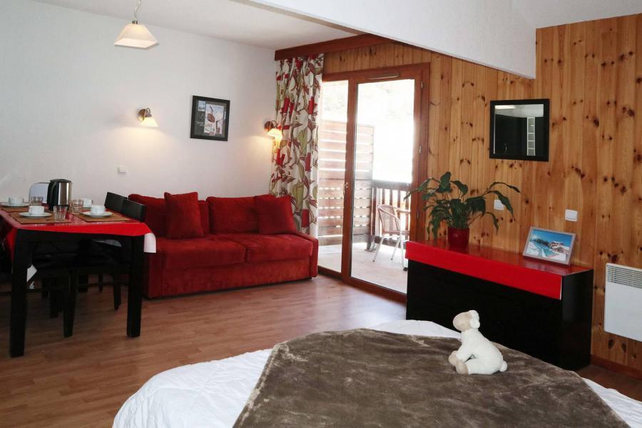 Аренда на лыжном курорте Квартира студия для 4 чел. (1010) - Résidence la Combe d'Or - Les Orres - Диван-кровать