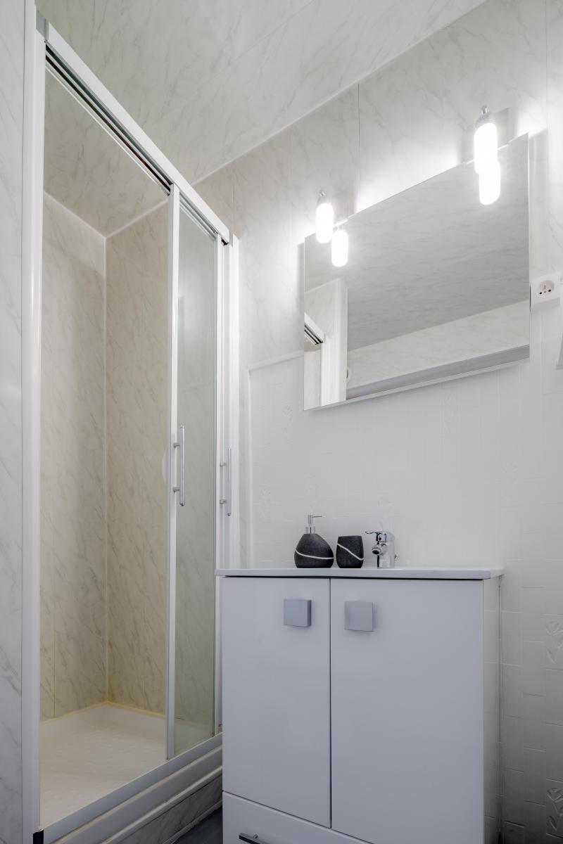 Location au ski Appartement 3 pièces 7 personnes - Résidence le 1650 - Les Orres - Douche