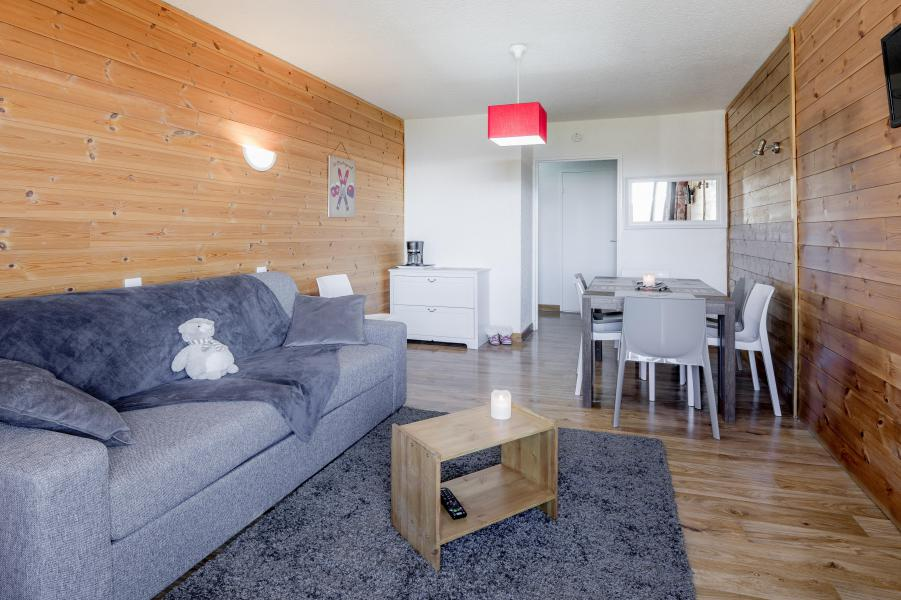 Location au ski Appartement 3 pièces 8 personnes - Résidence le 1650 - Les Orres - Séjour