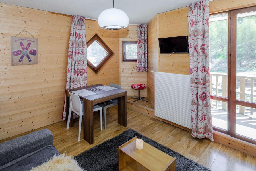 Location au ski Studio 2 personnes - Résidence le 1650 - Les Orres - Séjour