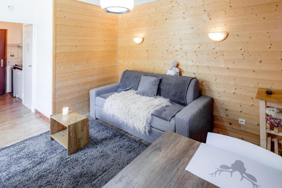 Location au ski Studio 3 personnes - Résidence le 1650 - Les Orres - Fauteuil lit