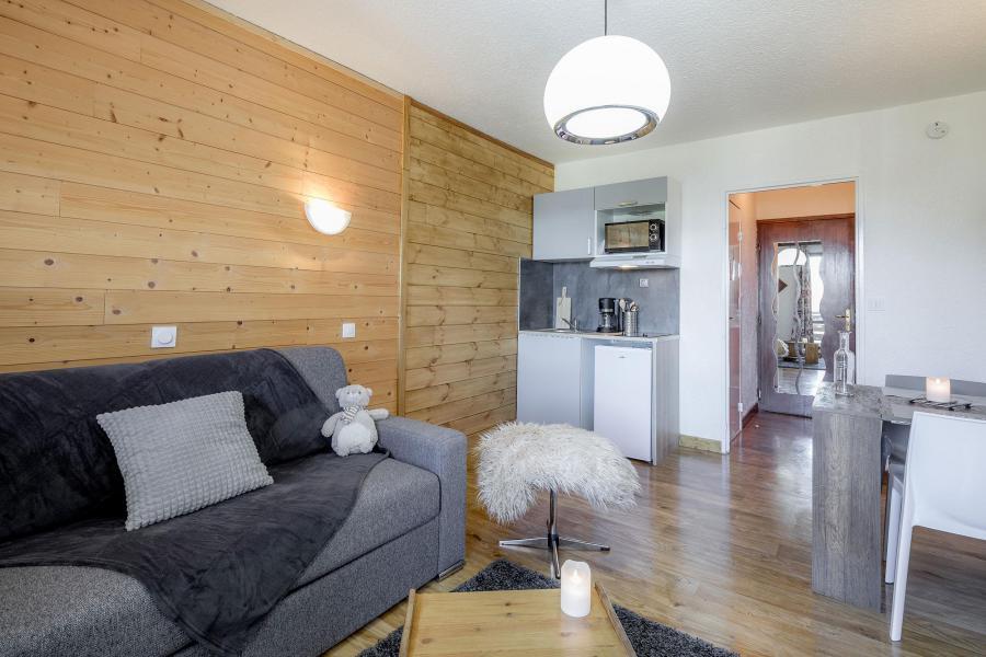 Location au ski Studio 3 personnes - Résidence le 1650 - Les Orres - Salle à manger