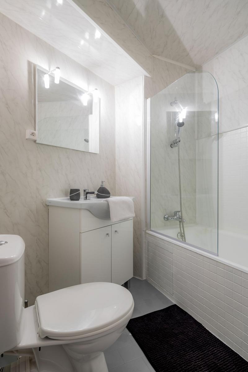 Location au ski Studio 3 personnes - Résidence le 1650 - Les Orres - Salle de bains