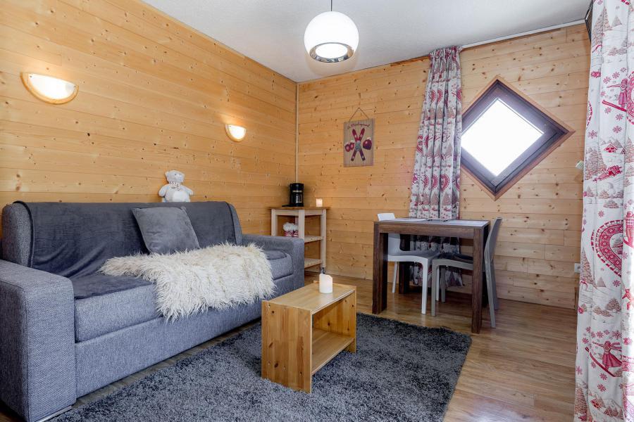 Location au ski Studio 3 personnes - Résidence le 1650 - Les Orres - Séjour