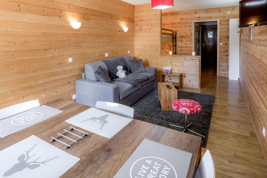 Location au ski Studio 4 personnes - Résidence le 1650 - Les Orres - Séjour