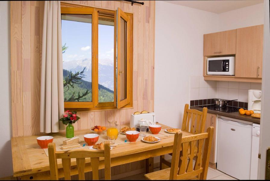 Location au ski Résidence le Balcon des Airelles - Les Orres - Coin repas