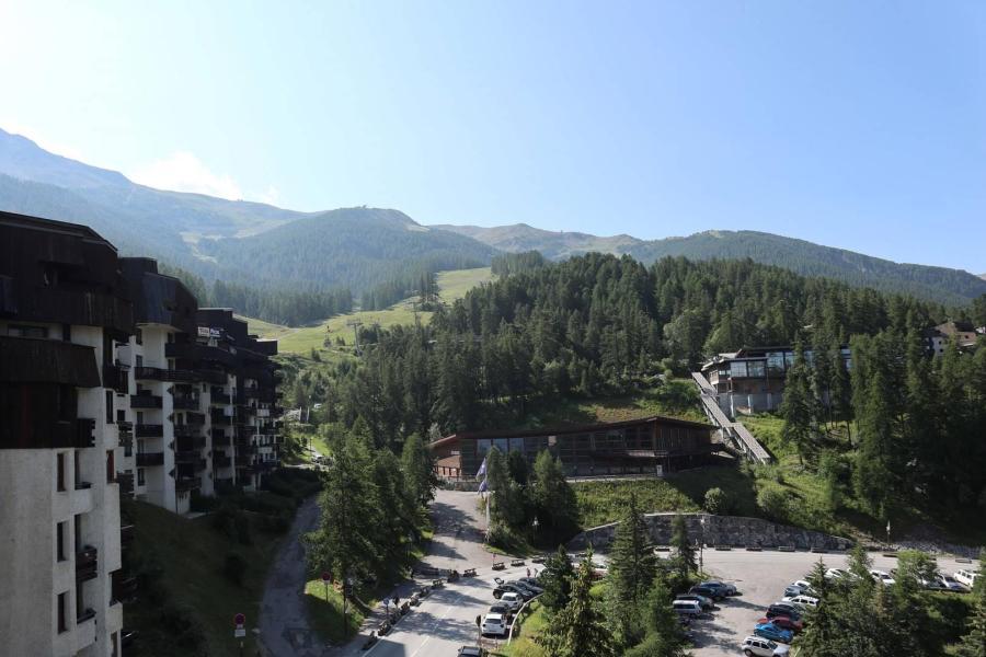 Location au ski Studio cabine 6 personnes (287) - Résidence le Belvédère - Les Orres - Lavabo