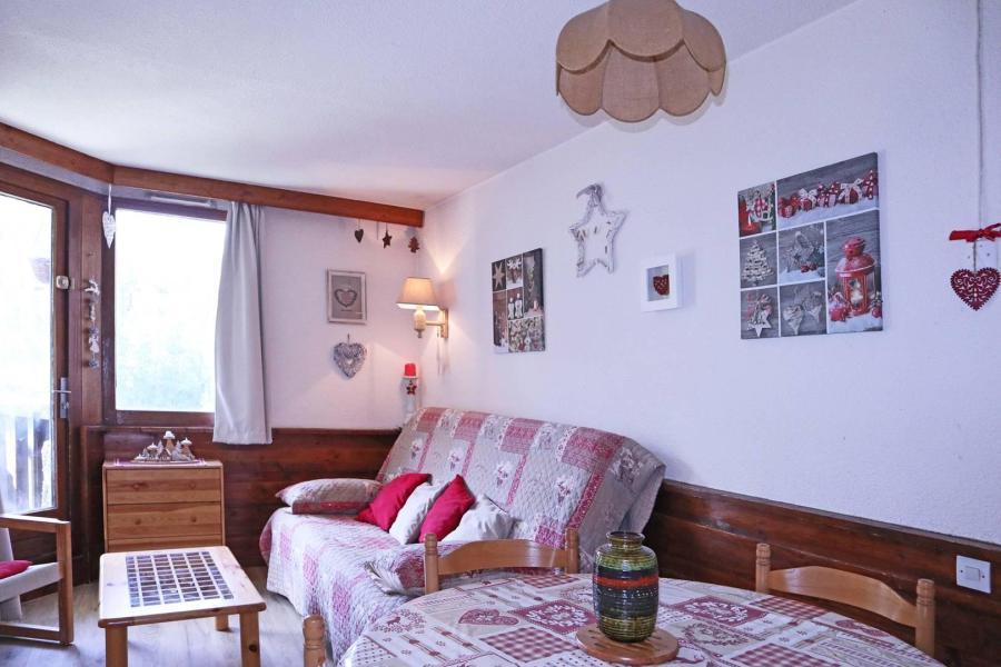 Location au ski Studio cabine 6 personnes (287) - Résidence le Belvédère - Les Orres - Salle à manger