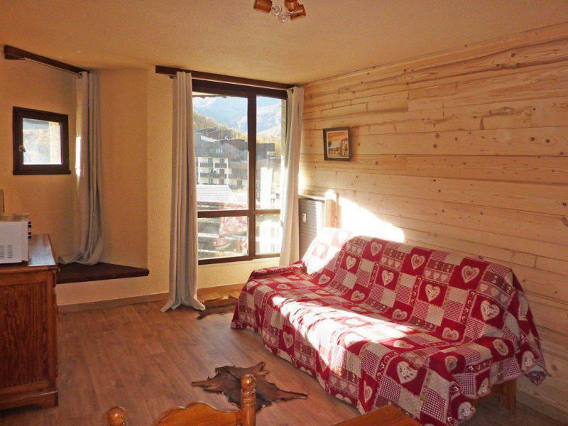 Location au ski Studio 2 personnes (331) - Résidence le Boussolenc - Les Orres - Canapé-lit