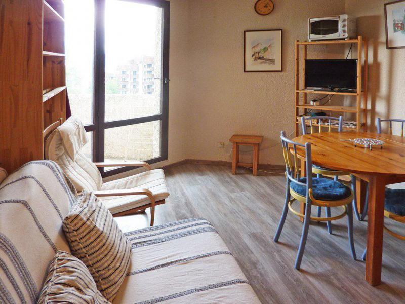 Location au ski Studio 4 personnes (083) - Résidence le Boussolenc - Les Orres - Canapé