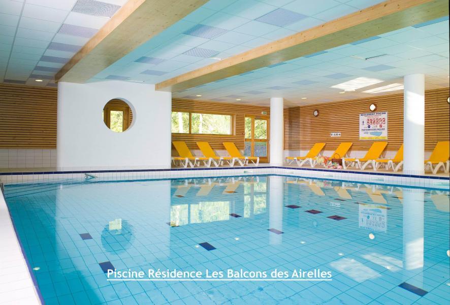Location au ski Residence Le Parc Des Airelles - Les Orres - Piscine