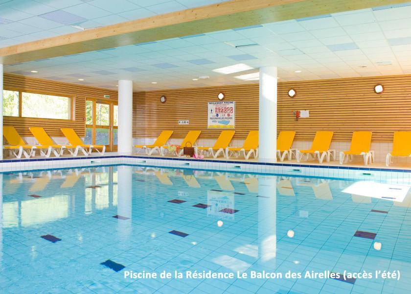 Location au ski Résidence le Parc des Airelles - Les Orres - Piscine