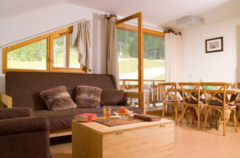 Alquiler al esquí Résidence le Parc des Airelles - Les Orres - Salón