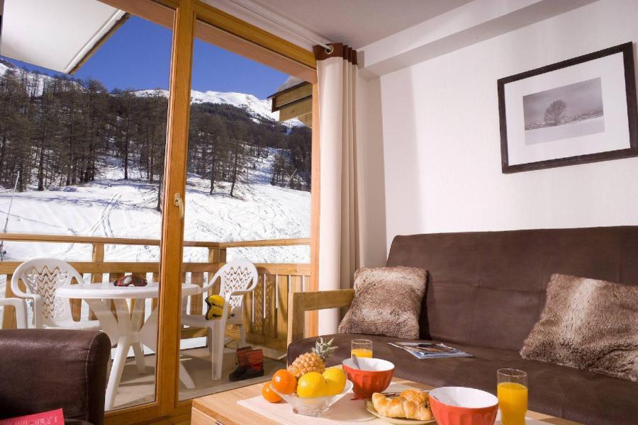 Location au ski Résidence le Parc des Airelles - Les Orres - Séjour