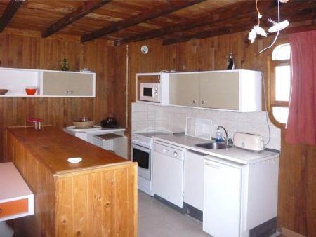 Location au ski Appartement 2 pièces 6 personnes (332) - Résidence le Silhourais - Les Orres - Cuisine