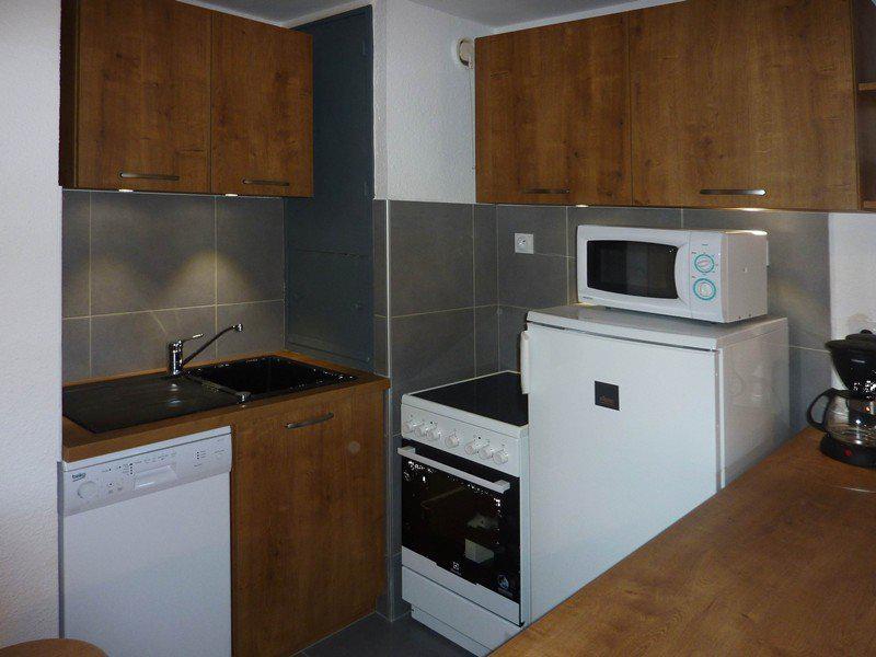 Location au ski Appartement 2 pièces 6 personnes (342) - Résidence le Silhourais - Les Orres - Kitchenette