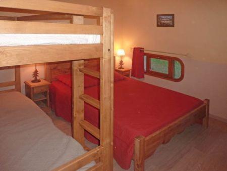 Location au ski Appartement 2 pièces 7 personnes (321) - Résidence le Silhourais - Les Orres - Chambre