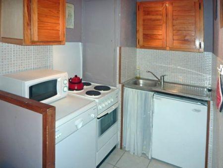 Location au ski Appartement 2 pièces 7 personnes (321) - Résidence le Silhourais - Les Orres - Kitchenette