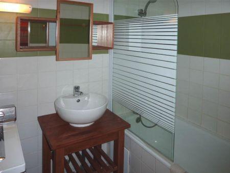 Location au ski Appartement 2 pièces 7 personnes (321) - Résidence le Silhourais - Les Orres - Lavabo